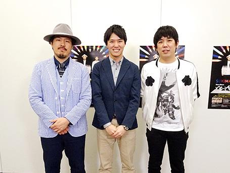 スキマスイッチの大橋卓弥さん、常田真太郎さんと