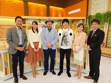 東海市出身の大橋さんと、名古屋市出身の常田さんとともに♪