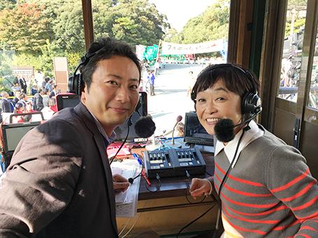 増田明美の「コマかいせつ」も大好評でした。