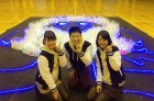 年末特番のダンス中継で、田中アナと望木アナと。 またみなさんと踊れる日を楽しみにしています!